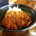 西日暮里酒場 串まる - 「西日暮里酒場 串まる」の「若鶏のソースかつ丼」