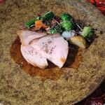 とれふる - 豚ソテー、生姜ソース