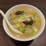 中華料理 香香 - 野菜ラーメン