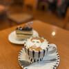 三好屋 - ドリンク写真:ケーキセット カプチーノ