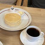 パンケーキママカフェ VoiVoi - コーヒーもセットで付けました。こちらもきちんと美味しいコーヒーです。