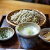 なめとこ山庵 - 料理写真:ざる(¥700税込み)