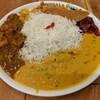 ポンガラカレー - 料理写真:スリランカプレート