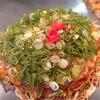 広島流お好み焼き 秀 - 料理写真:肉玉・イカ天・ネギ1150円