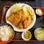 まるわ食堂 - カキとアジフライ定食