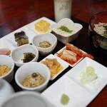 農家食堂 アコースティック ミユ - 料理写真:蕎麦 膳(¥1000税込み)