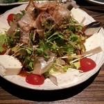 ダイニング&バー進 - 豆腐サラダ