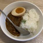 麺屋 燕 - 自家製キーマカリー 350円