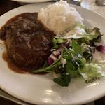 Cafe BOHEMIA - * 煮込みハンバーグ