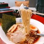 rakkan - 硬めの麺が美味しい!