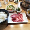 蓼科牛 Ittou - 料理写真:カルビ焼肉定食