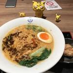 博多鶏ソバ 華味鳥 - 博多鶏担々麺1,150円(税込) ※唐揚げ付きです