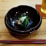 季節料理 あまね - 菜花と水蛸の桜和え