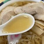 麺龍 - スープ