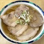 麺龍 - 「ハーフ&ハーフ」680円