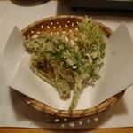 由布院 玉の湯 - 山菜の天ぷら