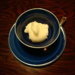 由布院 玉の湯 - 柚子のシャーベット