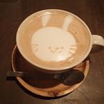 アナログ カフェ ラウンジ トーキョー - キャラメルラテ