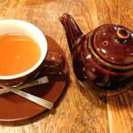 GRANNY SMITH  APPLE PIE & COFFEE - オーガニック アールグレイ(入れた後)