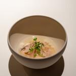 レストラン オオツ - 2021.3 地蛤と蕪のコンソメスープ