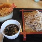 わびすけ - ミニ天丼セット