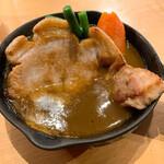148513360 - 【2021年03月】横浜やまゆり豚アルペンセット@2,240円、提供時。