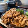 肉の丸小 - 料理写真:丸小豚生姜焼き 肉大盛  1400円