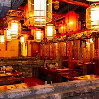 タイプスリップ!?100年前を再現した中国四川料理店