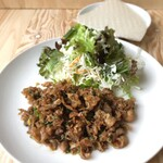 ベトナムレストラン チュックムン - 牛肉と野菜のライスペーパー包み(手巻き)