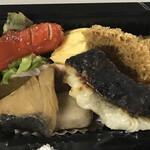 魚河岸割烹 鮮 - ウインナー、焼魚、魚フライ