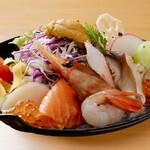 むらかみ流 海鮮お刺身サラダ