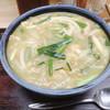 Kikuya - 料理写真:カレーうどん715円+うどん大盛り220円=935円