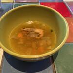 MUCHO MODERN MEXICANO - 海老のスープです