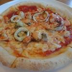 はいから食堂 - シーフードピザ
