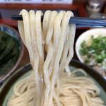 三三七 - 麺は中細の粒粉入り