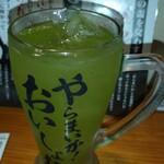 濱松たんと - 緑茶割り
