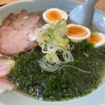 おいかわ食堂 - 料理写真:青のりラーメン