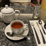 148538022 - 桜の紅茶ブレンドコーヒー