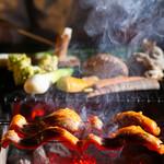 さんぽう西村屋 - 滋味深い地物食材の炭火焼き