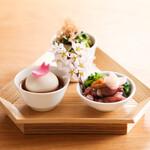 さんぽう西村屋 - 春の特別ランチコース「藤花」