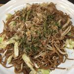 お好み焼き雄太朗幸袋店 - 料理写真:焼そば定食(白めしとみそ汁付き) 500円