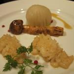 舞桜 - 鱧のバターソテーと松茸
