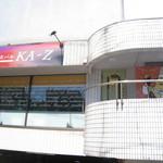 KA-Z - 店舗外観。駐車場はナシ。