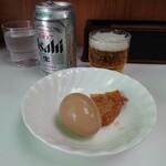 キッチン台栄 - ビールに合うよ〜!と出してくれたリッチなサービス。