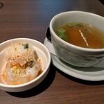 タイの食卓 オールドタイランド - 春巻、スープ