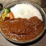 エイト カリー - あべ鶏の煮込みチキンカレー970円