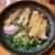 葉隠うどん - 肉ごぼう天うどん 630円(税込)