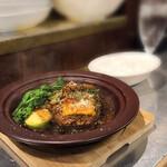 ポポンペット - デミグラスソースで煮込んだ フランスのお肉屋さん風シチューハンバーグ 880円(2021年3月中旬)