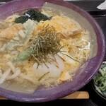 うどん処 三六 - 料理写真:天とじうどん(1020円税込)