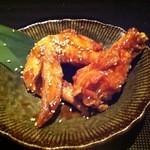 14857874 - 薩摩地鶏の手羽甘辛揚げ